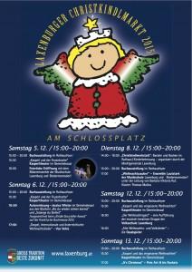 Plakat Christkindlmarkt 2015