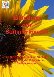 Plakat Klassenabend Simon, Mayrl, Bayer 2017