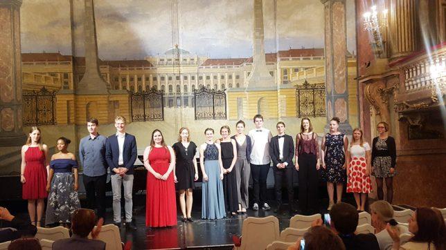 Mitwirkende im Schlosstheater Schönbrunn