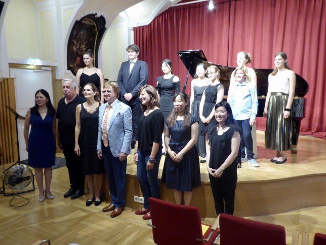 Die Teilnehmer des Prof. Pichler-Wettbewerbs 2020
